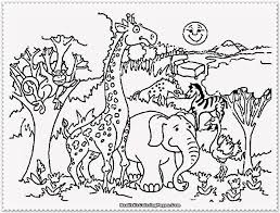 30 Zoo Coloring Pages Zoo Critters Coloring Page