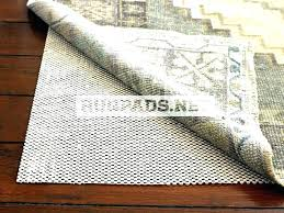 wood floors natural rubber rug pads for har natural