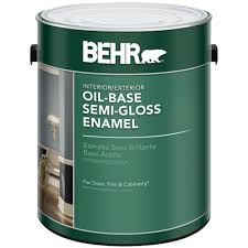 behr exterior paint home depot. Brilliant Paint BEHR 1gal White SemiGloss OilBased InteriorExterior Paint Inside Behr Exterior Home Depot P