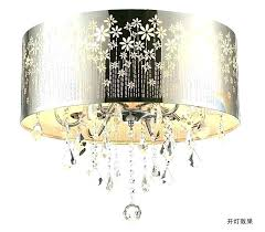 extra large drum light shades chandelier 5 shade white