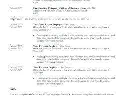 Resume Examples For Recent College Graduates Cover Letter Graduate