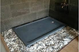 36 x 60 shower base x granite shower pan gray bathroom stone quasar 36 x 60