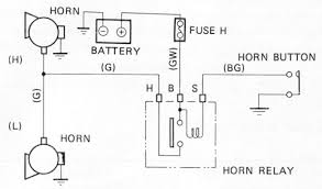 tech wiki horn datsun 1200 club horn wiring schematic 14974 jpg