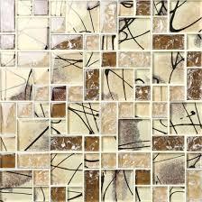 2017 foshan factory outdoor glass mosaic