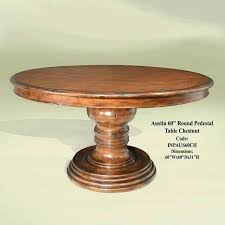60 inch round pedestal table table dining room table awesome inch round pedestal reclaimed inch round