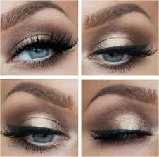 blue dress eye makeup liner