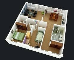 2 Bedroom Plus 1 Bedroom 1431 Sqft Type E Floor Plan  Ocean Floor Plan Plus