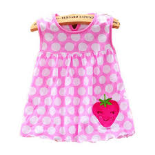 Kids <b>Cotton</b> Regular Sleeveless A Line <b>Dresses Cute</b> Vestido infantil ...