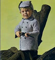 Vintage Knitting Patterns Extraordinary Original Boys Vintage Knitting Pattern Coat Deerstalker Hat 4848