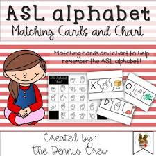 American Sign Language Alphabet Chart And Puzzles