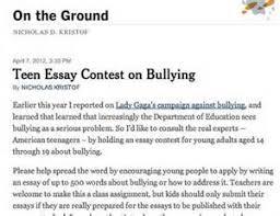 bully essays bullying essay example haadyaooverbayresort essay tagalog