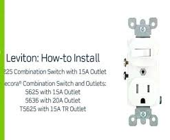 leviton combination switch outlet wiring diagram vmglobal co 9 practical how to wire an electrical outlet diagram photos leviton combination switch wiring of heart