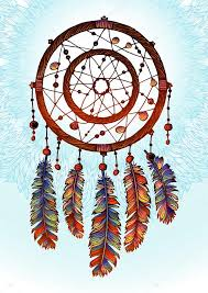 Traditional Dream Catchers Gorgeous Native American Indian Dream Catcher Traditional Symbol Bright