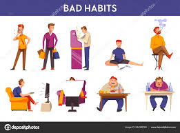 Image result for bad habits