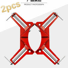 ihambing ang pinakabagong 2pcs reinforced 90 degree right angle clip diy glass fish tank fast fixing clip frame clip woodworking photo frame clip