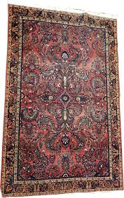 antique persian saruk rug restoration cleaning stain removal s appraisals