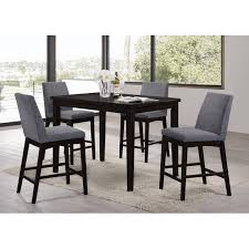 montclair 5 piece counter height dining set