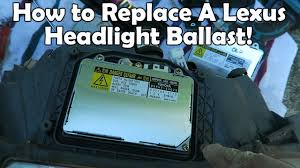 how to replace 2002 lexus is300 hid ballast how to replace 2002 lexus is300 hid ballast