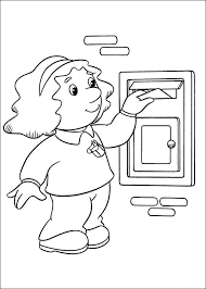 Small Picture Postman Pat Coloring Pages8 Coloring Kids