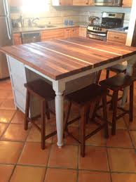 Diy Kitchen Island Table Diy Kitchen Island Looks Great