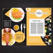 Restaurant Menu Format Free Restaurant Menu Template Free Vector Download 16 825 Free Vector