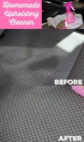 Is your couch or car upholstery in need of a little TLC? This homemade  upholstery