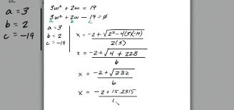 quadratic equation solved math how to solve quadratic equation word problems in algebra a math maths