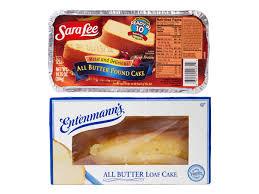 Sara Lee Pound Cake Vs Entenmanns Loaf Cake Serious Eats