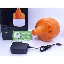 Bóng đèn LED sạc tích điện 50w, có móc treo không dây thông minh 3 chế độ  sáng bóng đèn tích điện, đèn sạc