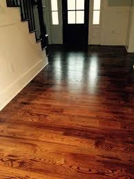 dark walnut stain on red oak floors more