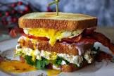 bacon horseradish turkey sandwiches
