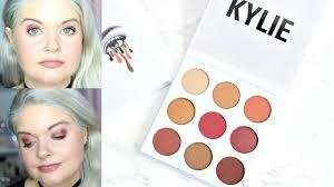 kylie jenner burgundy palette swatches review makeup tutorial vs bronze modern renaissance beauty beauty
