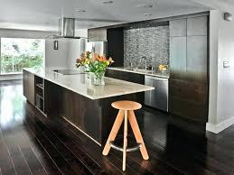 wood floors in kitchens dark wood floor and white kitchen also dark hardwood floors and wall