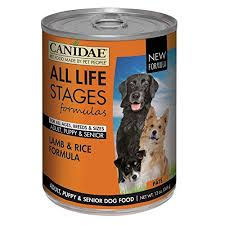 Canidae All Life Stages Dog Wet Food Made With Lamb Rice