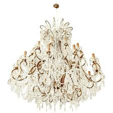 italian chandelier impressive chandelier with vintage glass crystals for italian chandelier modern