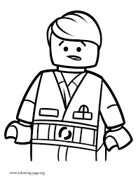Emmet Colouring Pages Printable Lego Movie Coloring Pages Radiokotha