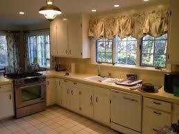 Refinish Kitchen Cabinets Kit Kitchen Cabinets Refinishing Kits Bright Lighting Creamed Tiles