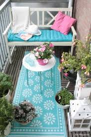 small balcony furniture. Beautiful Balcony With Very Nice Colors Small Furniture