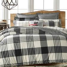 Martha Stewart Boot Tray Martha Stewart Collection Montana Plaid Onyx Flannel Duvet Bed