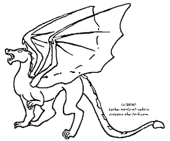template of a dragon angry dragon template by lethe gray on deviantart
