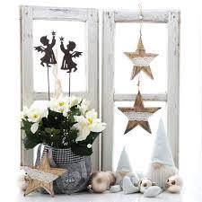 Fensterdeko Weihnachten Mit Landhaus Deko Pfiffig Selber