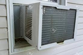 Fenster Klimaanlage Verwendet Werden Um Dinge Kühl Zu Halten