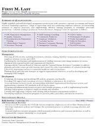 sample human resources manager resume experience resumes sample human resources manager resume pertaining to ucwords
