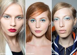 spring summer 2016 makeup trends blue eye makeup makeup beauty trends ss16