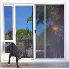 sliding door dog door pet patio door