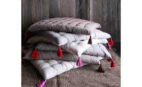 tufted floor pillow. Interesting Pillow Natural Floor Pillow Inside Tufted O