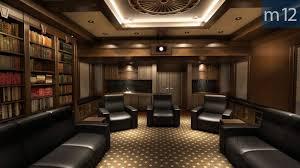 dark media room. Dark Media Room