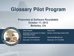 ppt glossary pilot program presented at roundtable october 17 2016 berkeley ca powerpoint presentation id 6176859
