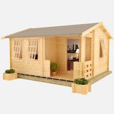 outside office shed. The Amur Log Cabin Outside Office Shed T