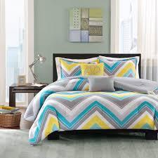 wondrous ideas blue and yellow comforter sets com intelligent design elise set twin xl bedding grey cheveron 4 piece teen bed peach skin fabric